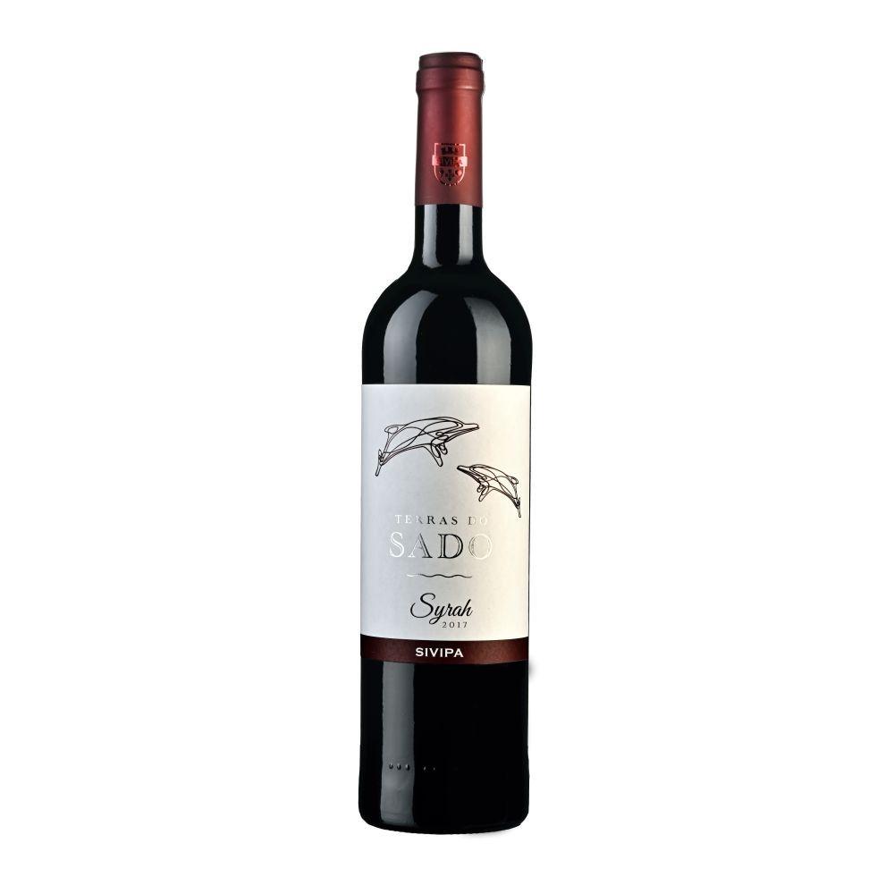 Vinho Português Terras do Sado Syrah Tinto  750ml