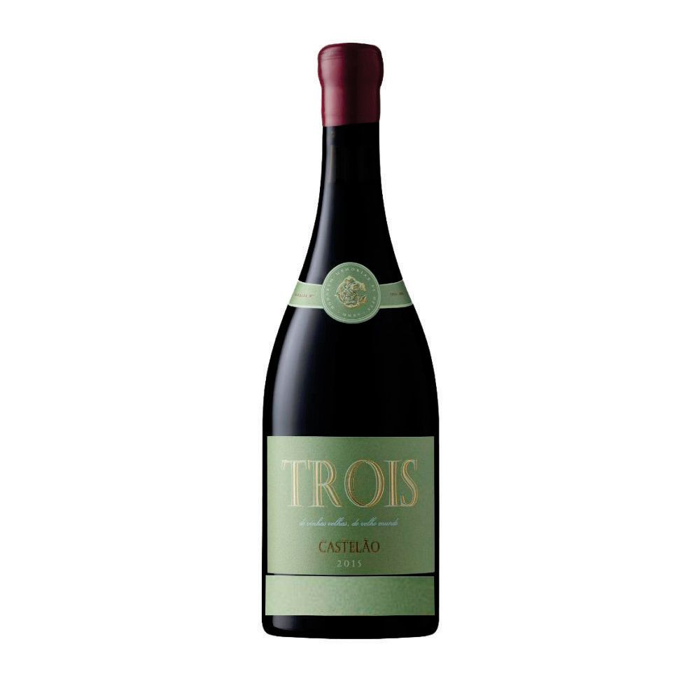 Vinho Português Trois Tinto - Castelão - 750ml