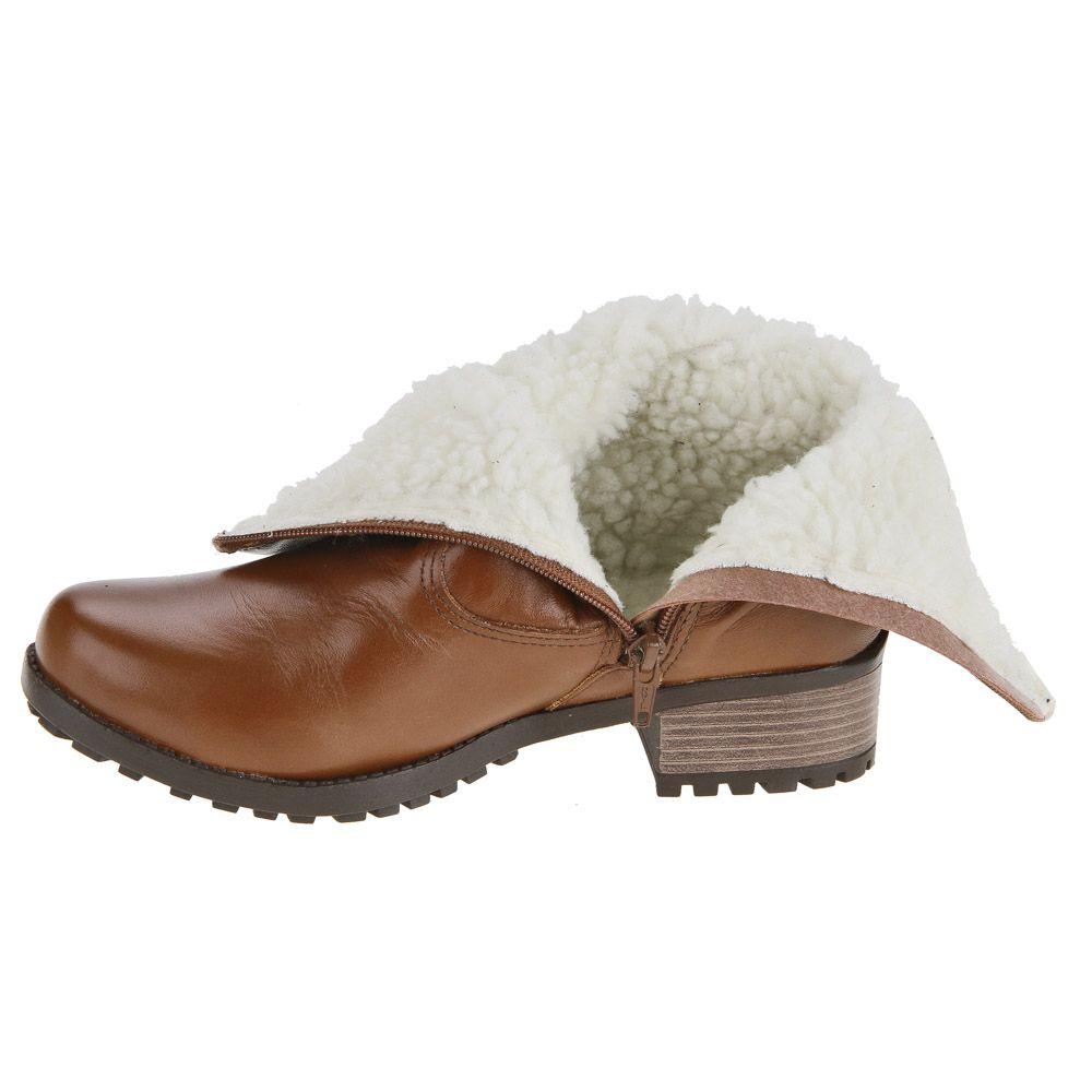 Botas Para Neve Forradas Com Lã 25900