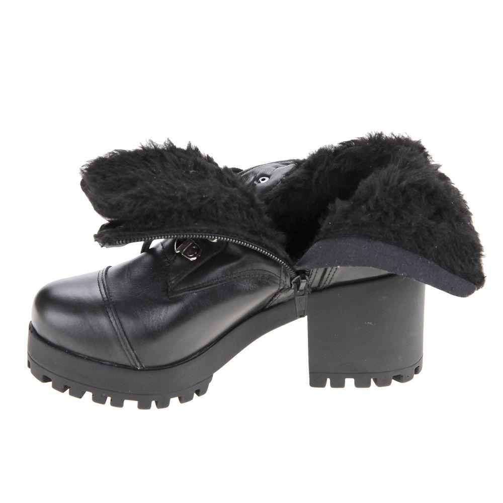 Botas Para Neve Forradas Com Lã 36500