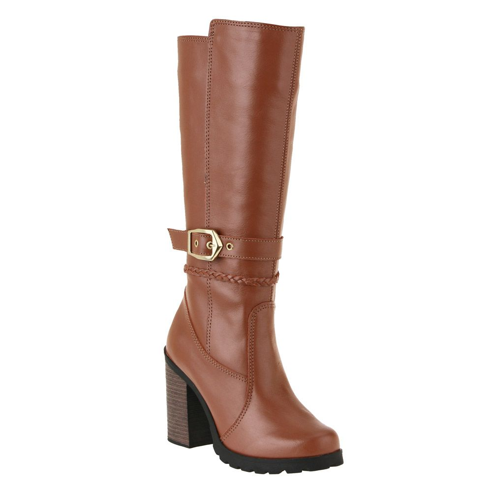 Botas Plus Size Cano Longo - 140ps