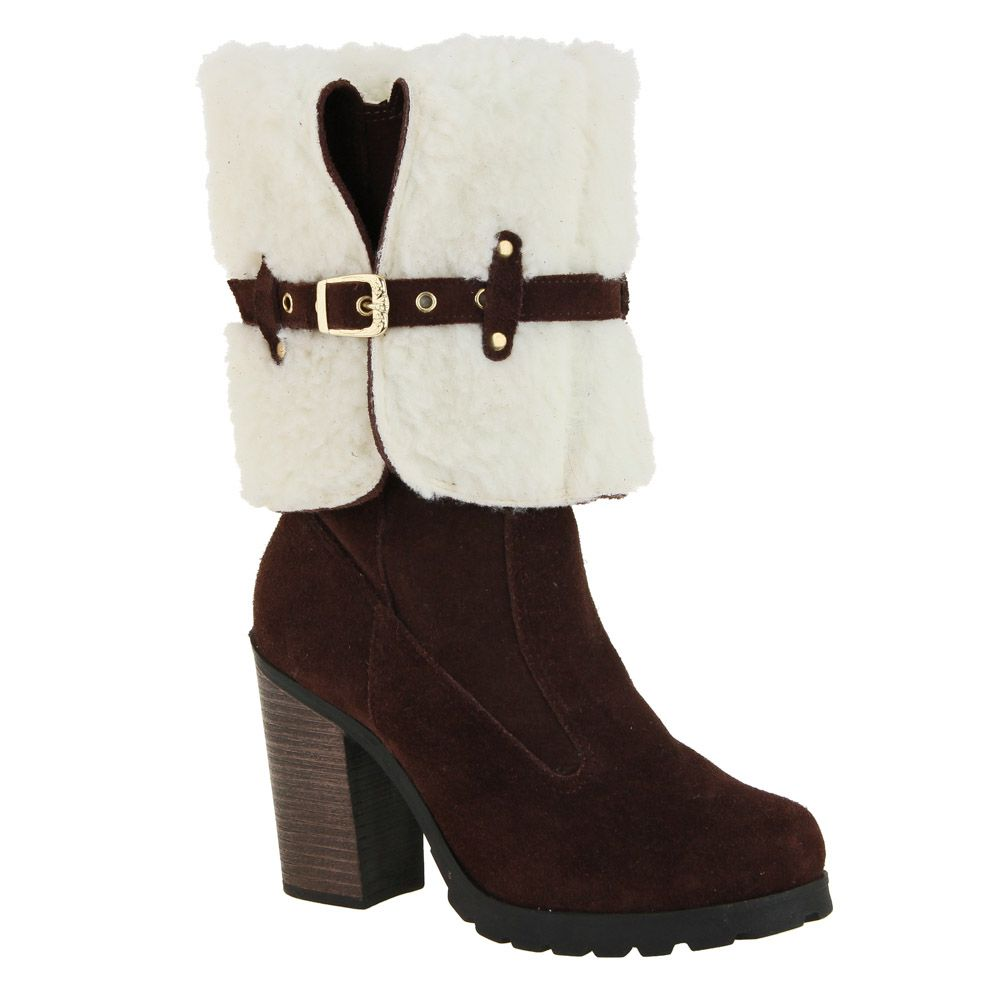 Botas Plus Size Cano Longo - 141ps