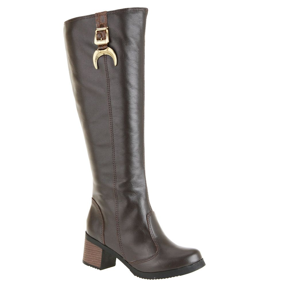 Botas Plus Size Cano Longo - 152ps