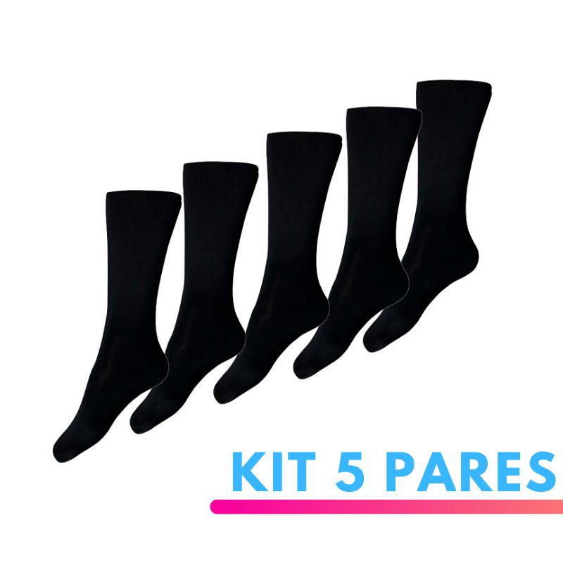 Kit 5 Pares de Meia Térmica Segunda Pele Thermohead Extreme Cold