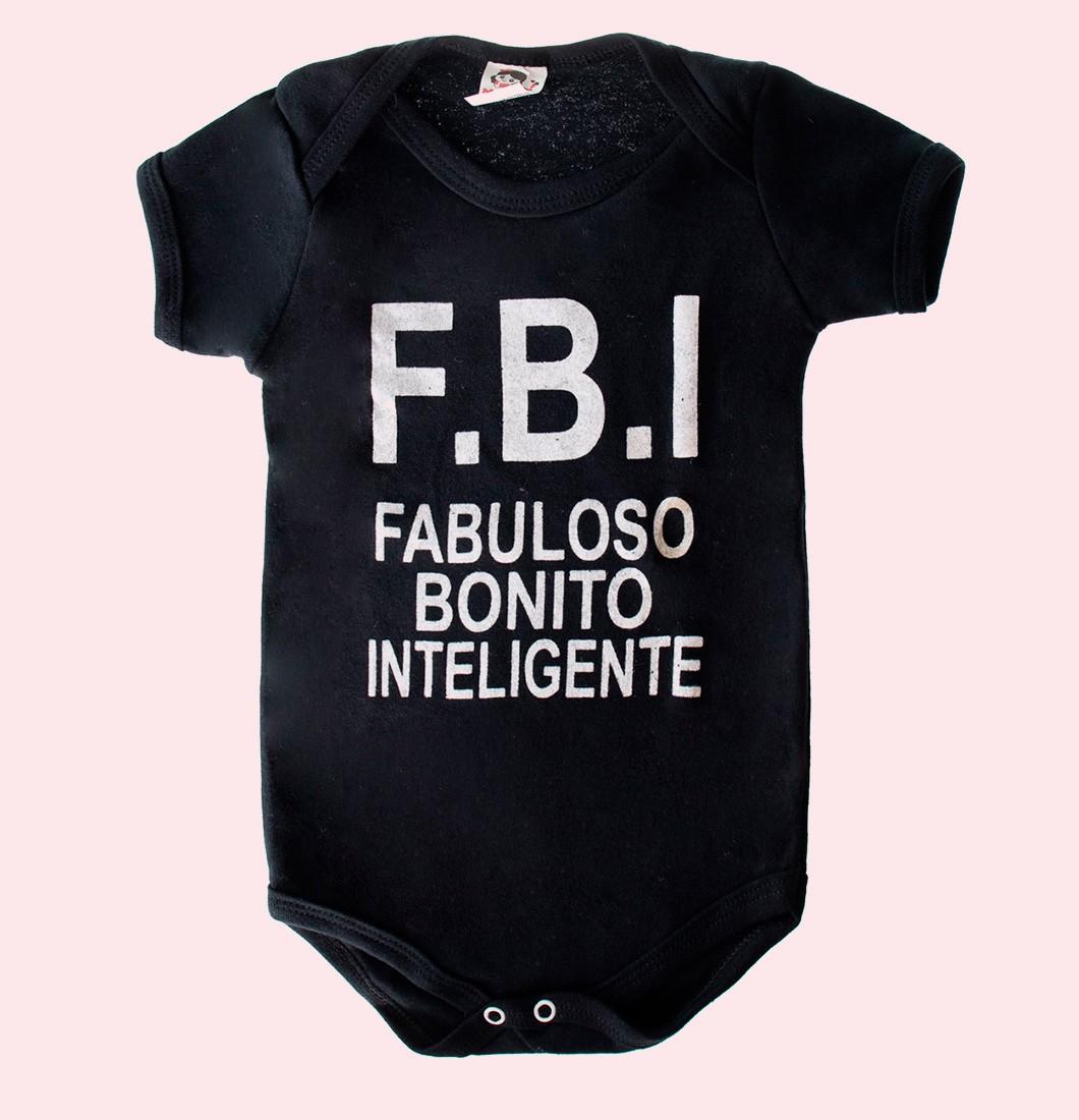 Body Infantil F.B.I.