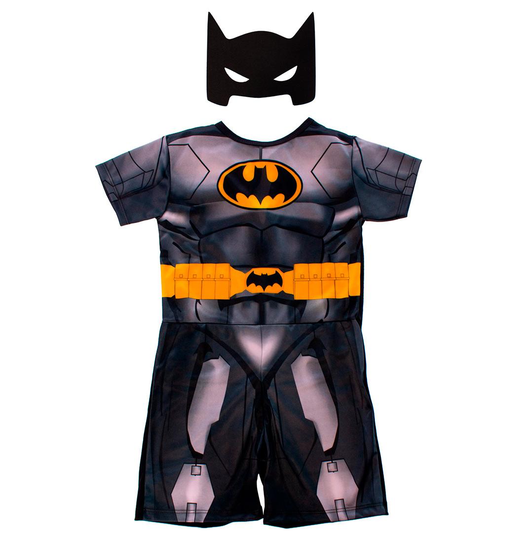 Fantasia Infantil Batman Com Mascara e Capa