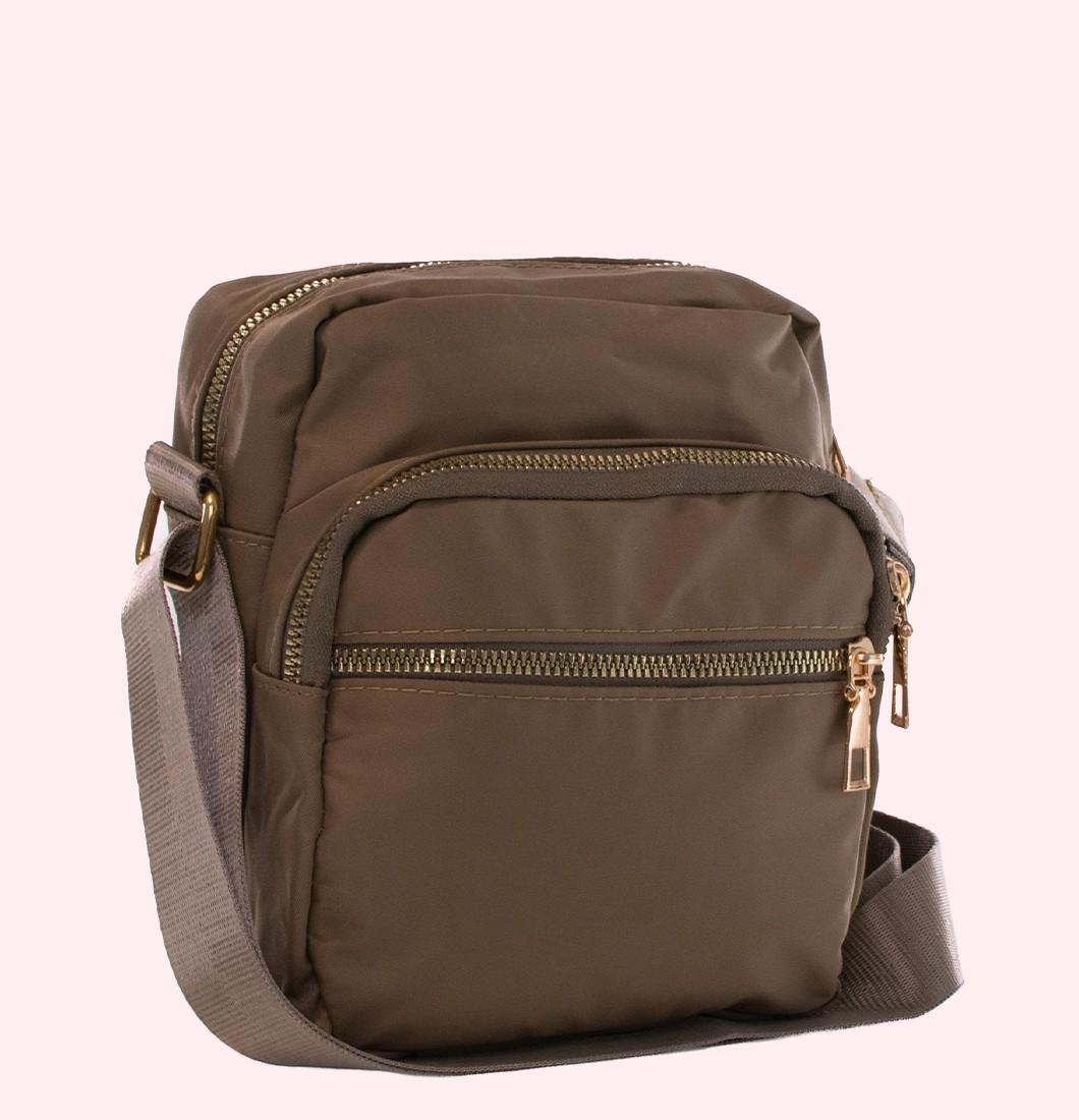 Shoulder Bag de Nylon Unissex
