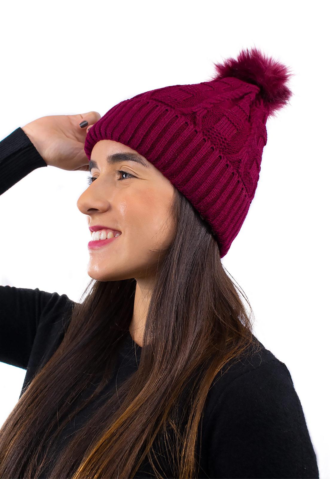 Touca Feminina Quentinha Inverno Estilosa