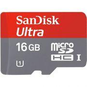 Cartao Micro Sd Sandisk Class 10 Ultra 16gb ORIGINAL