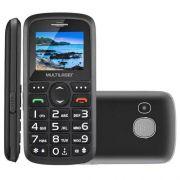 "Celular MULTILASER Vita III P9048SA Dual SIM 32MB Tela de 1.8"" Câmera VGA - Preto"