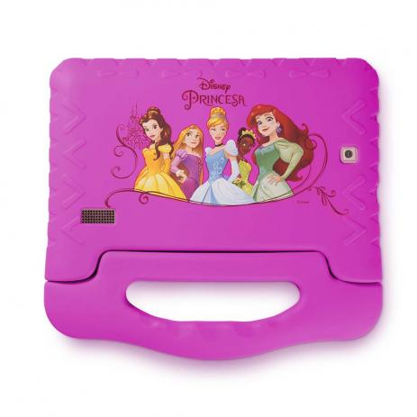 70fa7dcd59 ... Tablet Disney Princesas Plus Wifi 8Gb Dual Câmera Android 7 Rosa  Multilaser ...