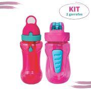 Kit 2 Garrafas Infantil