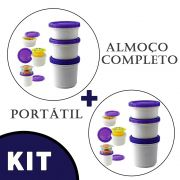 Kit 2 potes para iogurte COOL GEAR almoço fit