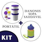 Pote para Iogurte  + Pote Cool Gear Para Sopa