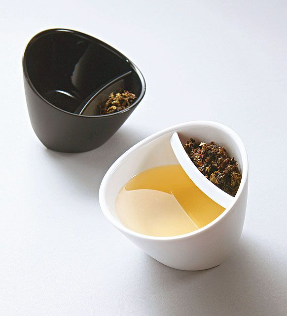 Kit 10x Xícara de chá Magisso preta