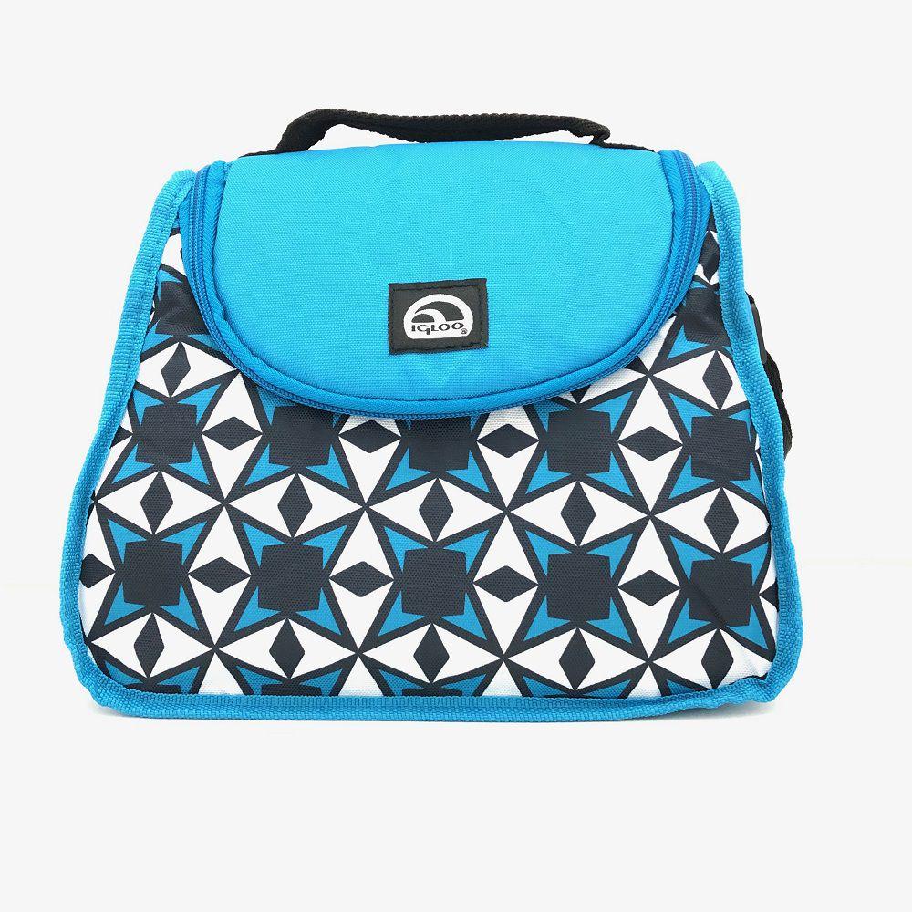 Bolsa Lancheira Térmica Igloo Cross Estrela Azul