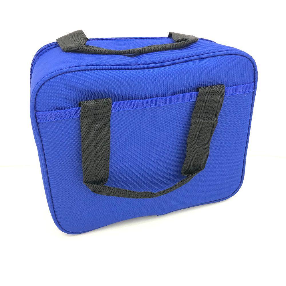 Lancheira Térmica Igloo Quadrada Xadrez Azul
