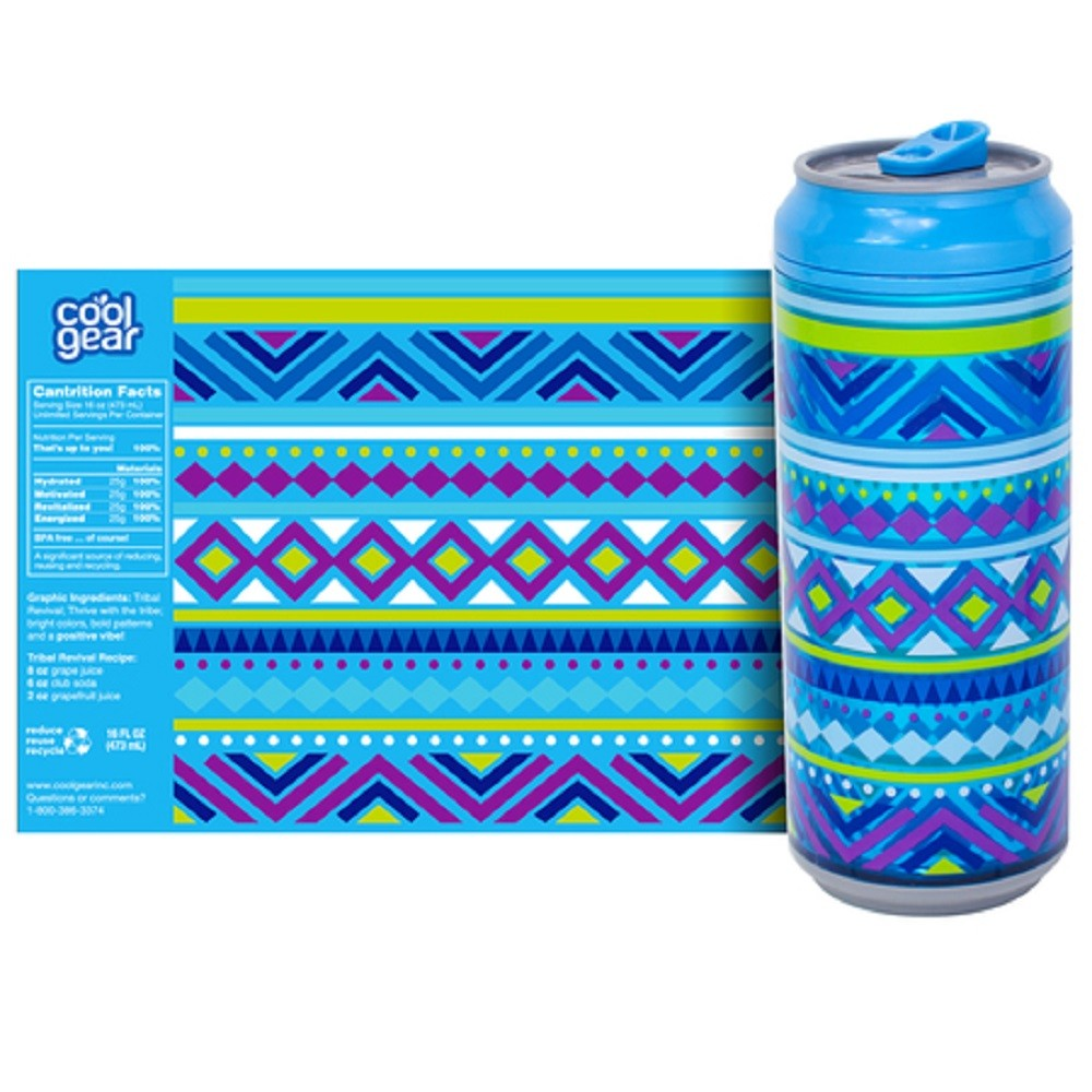Latinha Cool Gear Primavera 473ml