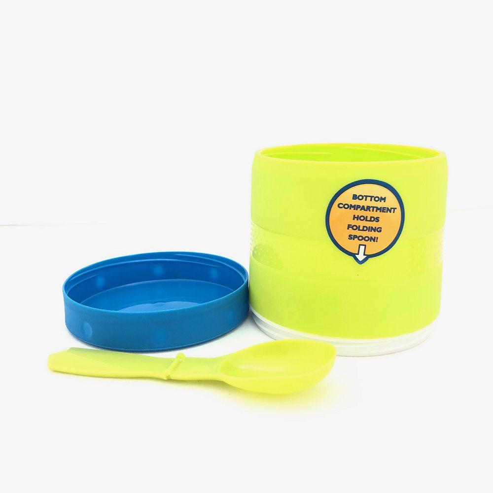 Necessaire Termica Insulina Xadrez + Pote Cool Gear Sopa
