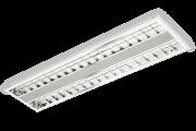 Luminária de embutir T5 para 2 lâmpadas tubulares de 28W