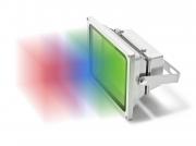Refletor LED 30W Bivolt luz RGB