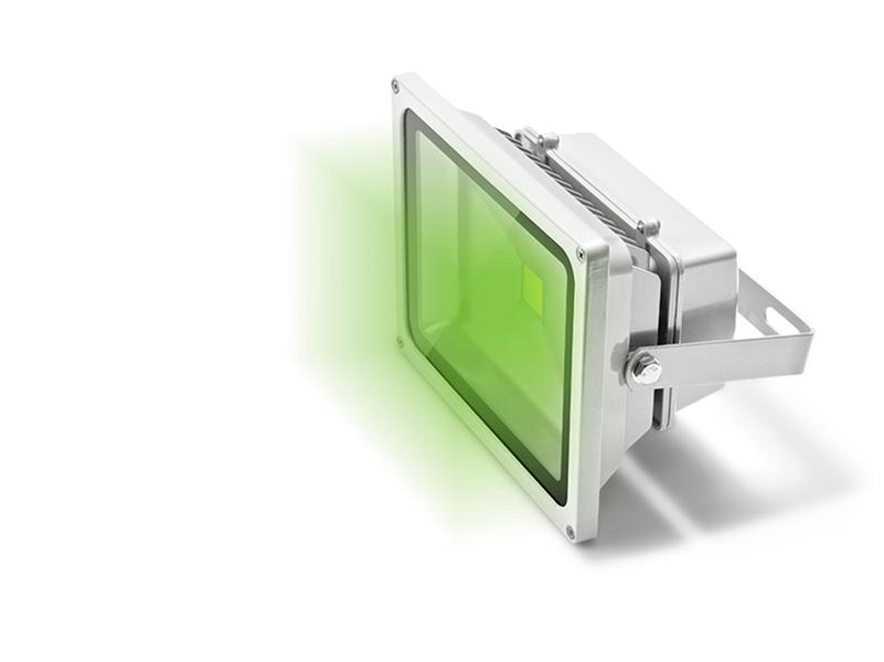 Refletor LED 30W Bivolt Luz verde