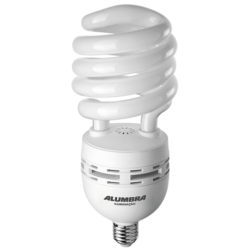 Lâmpada fluorescente alta potência 53W E27 Luz Branca