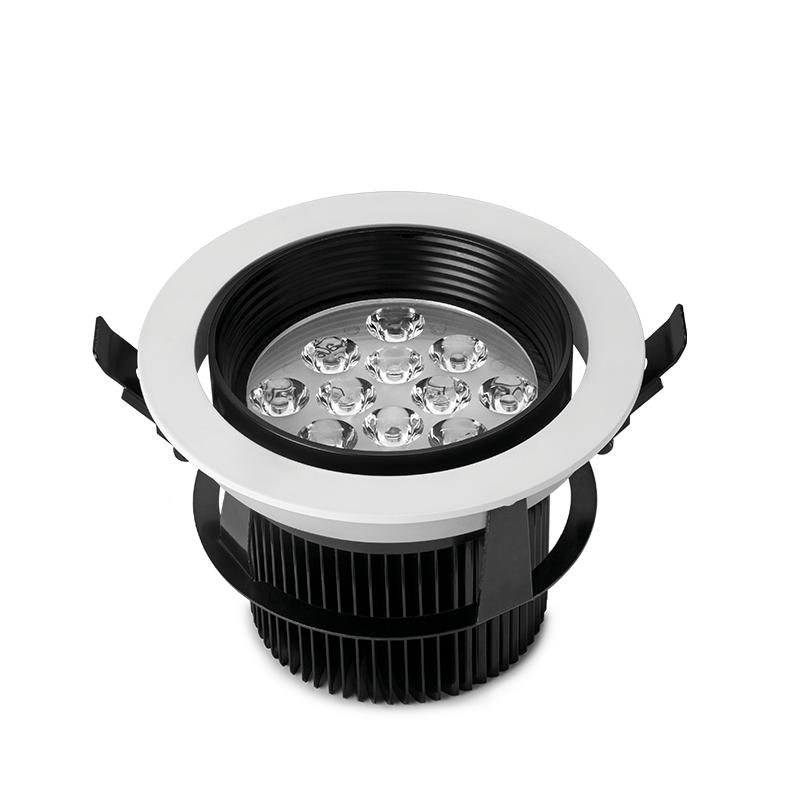 Luminária LED com difusor orbital 18W Bivolt redonda  - kit com 2 peças
