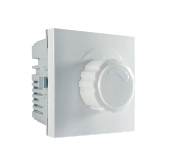 Mód. variador de luminosidade rotativo 127V/500W branco linha Bliss