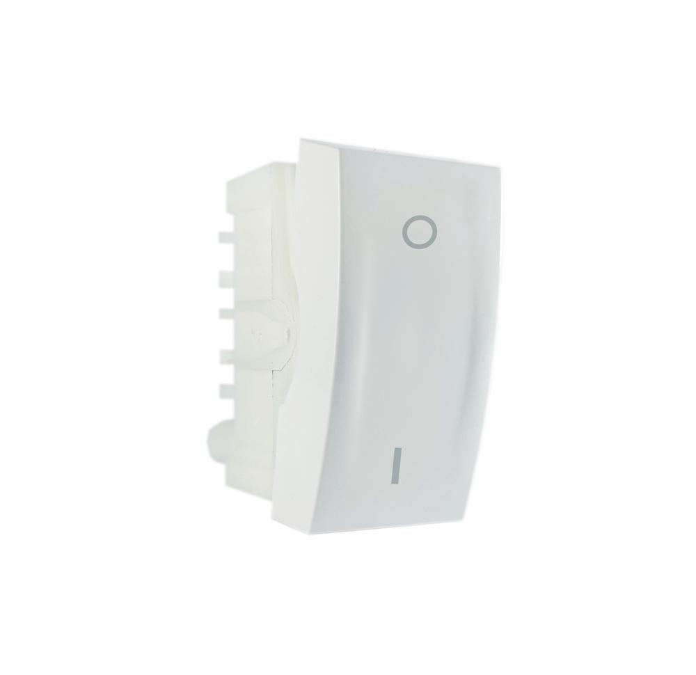 Módulo Interruptor Bipolar simples 10A 250V~ branco linha Bliss