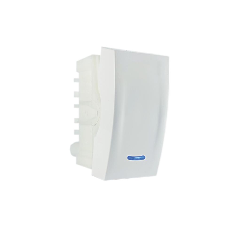 Módulo Interruptor paralelo c/luz 10A 250V~ branco linha Bliss