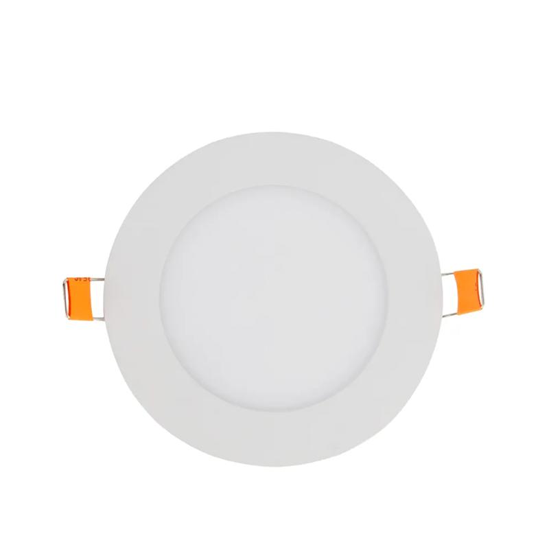 PAINEL LED EMBUTIR - Ø170x20 - 12W - 3.000K luz amarela Bivolt