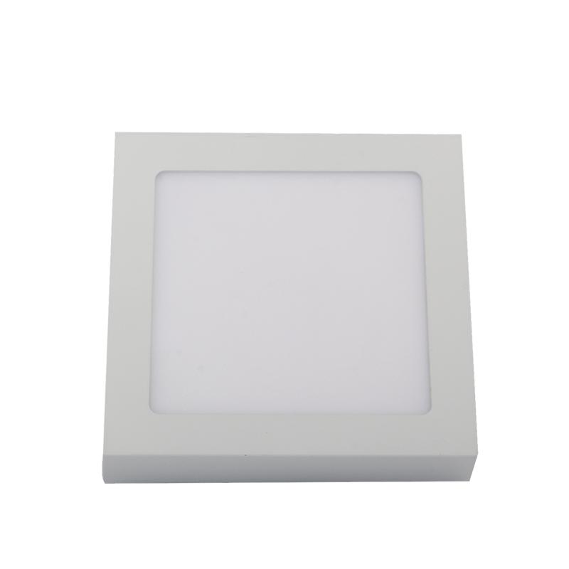 PAINEL LED SOBREPOR - 160x160x33 - 12W- 3.000K luz amarela Bivolt