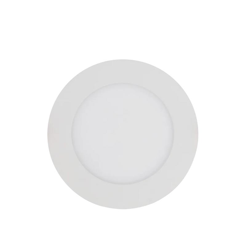 PAINEL LED SOBREPOR - Ø160x33 - 12W- 3.000K luz amarela Bivolt