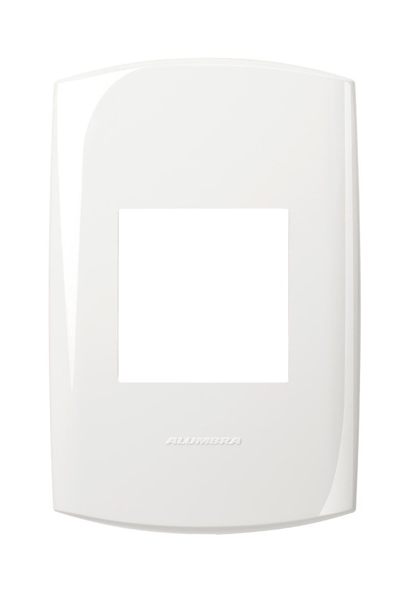 Placas 4x2 cor branco linha BLISS