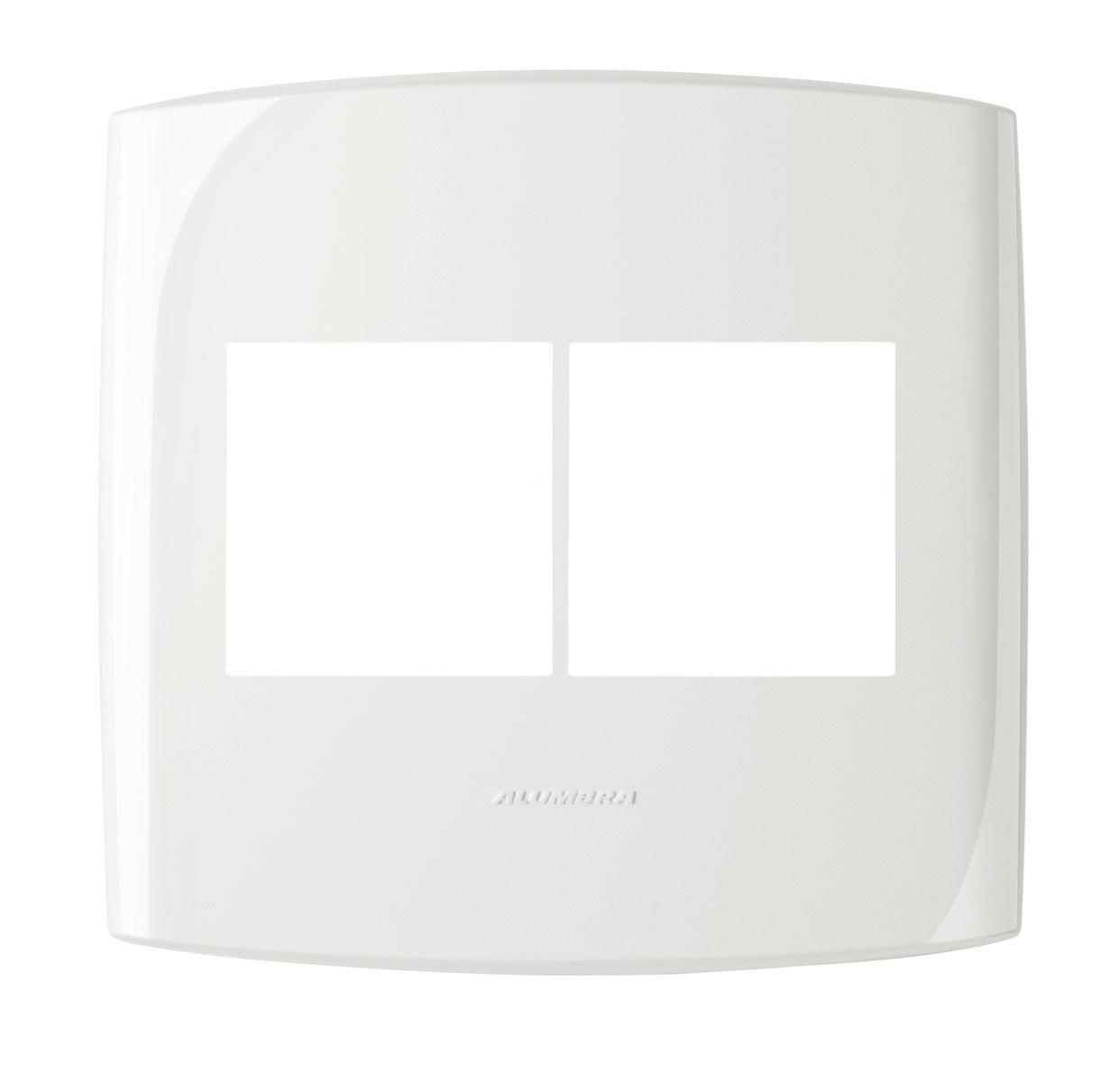 Placas 4x4 cor Branco linha BLISS