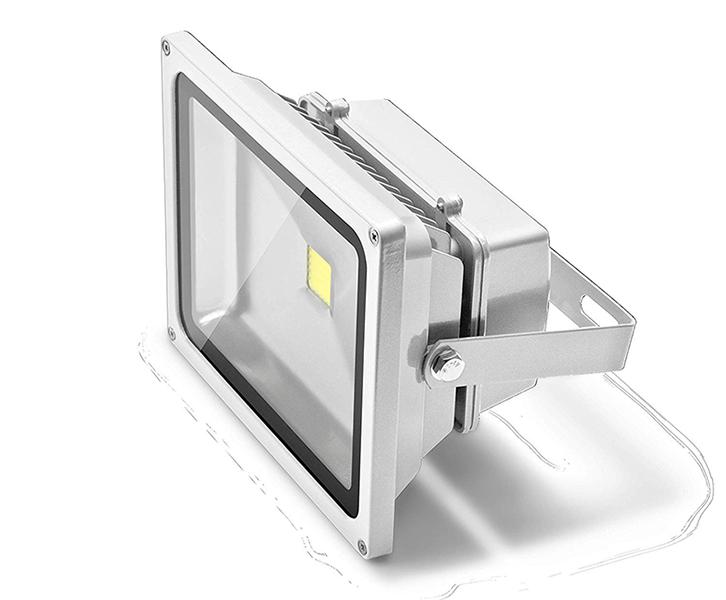 Refletor LED 30W Bivolt Luz Branca com sensor de presença