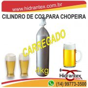 Cilindro Co2 4kg (cheio) Chopeira Cerveja Artesanal