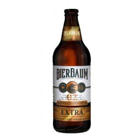 Cerveja Artesanal 3 Maltes Bierbaum Extra 600ml