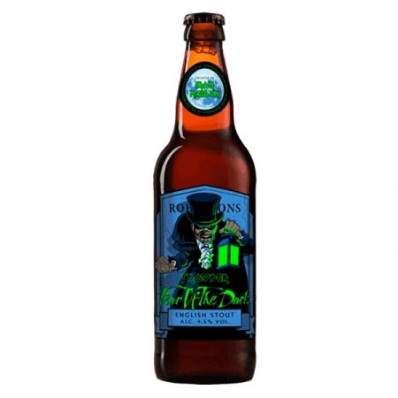 Cerveja Trooper Iron Maiden Fear Of The Dark Garrafa 500ml