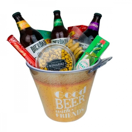 Cesta Balde de Cerveja Artesanal Bierbaum