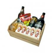 Cesta de Presente de Natal com Cerveja