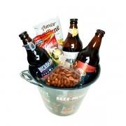 Cesta de Presente Especial Balde de Cerveja