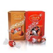 Chocolate Lindt Lindor Ball Caixa - Sabores