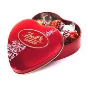Chocolate Lindt Lindor Milk Crystal Coração  48g