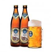 Kit 2 Cervejas Hofbrau Original 500ml + Caneca 500ml