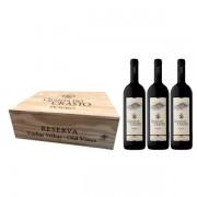 Kit 3 Vinhos Quinta do Castro Reserva Vinhas Velhas DOC Douro