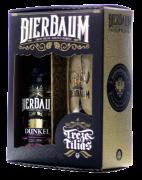 Kit Cerveja Artesanal Escura Puro Malte Bierbaum Dunkel + COPO