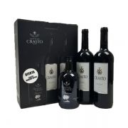 Kit Quinta do Crasto 2 Vinhos Crasto Douro DOC 750ml e ganhe 1 Azeite Selection 500ml
