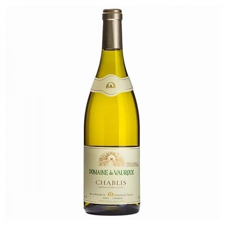 Vinho Branco Chablis Domaine de Vauroux 750ml